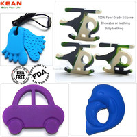 Stylish design mixed shape teething toys for dogs teething toy for baby