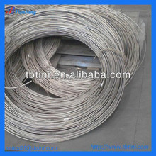 baoji hot sale nitinol wire 0.5mm 0.7mm diameter in spool for testing