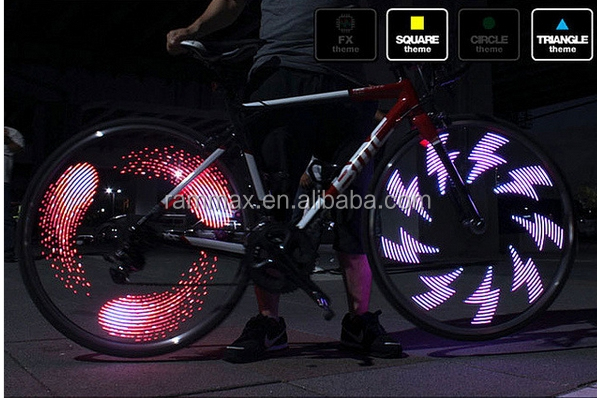 hot sell waterproof colorful led bicycle/car/motorcycle wheel lights