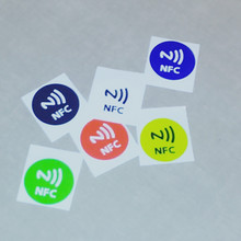 2107 encoded custom nfc stickers
