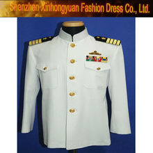 wool military officer navy white uniform