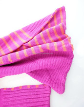Factory made latest fashion fleece knit gloves