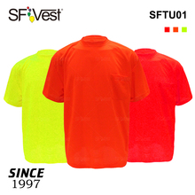 Hi visibility work wear used uniform industry construction high light work shirts workwear