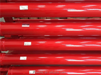 DN125 Schwing twin wall wear resistance pipe concrete pump spare parts
