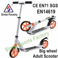 Best Christmas gift 2016 Best sales big wheeled kick scooter for kids