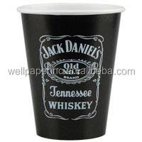 9 oz Disposable Black Paper Cup