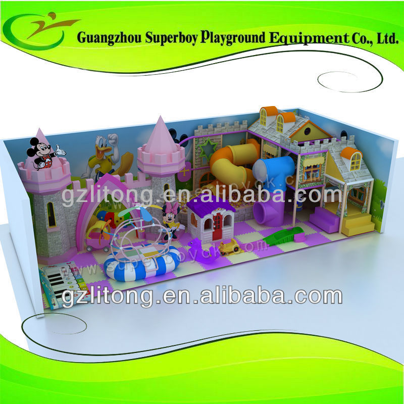 Biggest Indoor Playground Supplier amusement theme park decorations