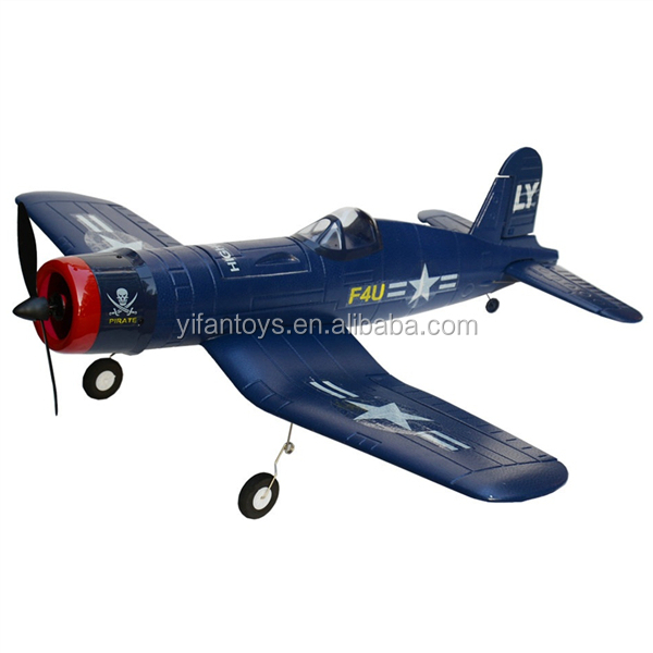 Volantex RC Toys 2.4Ghz 6 Channels F4U Corsair V748-1 RC Glider Kit RC Airplane For Kids