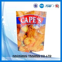Top quality bildegradable printed resealable heat seal laminated plastic bag plastic sealing bag for potato chips