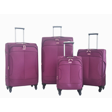 Factory hot sale 4pcs set 20 24 28 32 inch luggage trolley bags high quality 4 wheels luggage trolley
