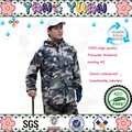 Camouflage rain suit rainsuits