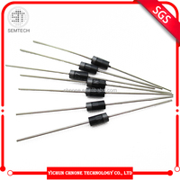High voltage Diode 1A 50-1000V Plastic Silicon Rectifier Diode 1N4001 to 1N4007 DO-41 rectifier diode