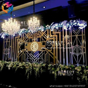 HLY Wedding supplies wedding backdrop for wedding party banquet decoration