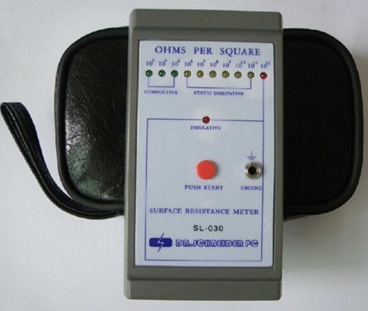 Digital Insulation Resistance Tester SL-030 surface resistance meter/earth resistance tester