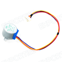 Gear Stepper Motor DC 12V Step Motor 4 Phase Reduction for Arduino