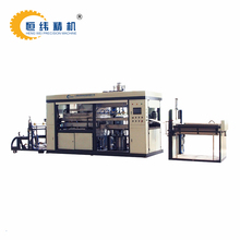 High speed thermoforming machine for plastic flocking tray for high grade packaging making