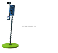 (AT-6068D)Made in China deep underground Metal Detector,gold detector with Rechargeable Battery,under ground detecting machine
