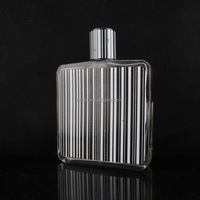 100 ml high quality mens cologne rectangle glass after shave bottles