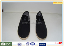 Professional manufacturer oem is welcome small order accepted espadriles shoes