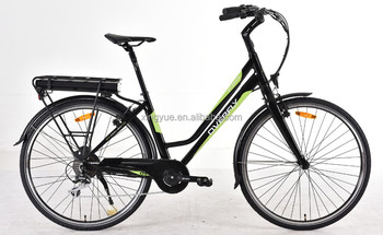 City electric bicycle for lady with Sumsung lithium battery