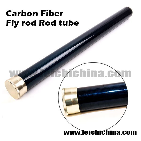 High quality wholesale carbon fiber fly fishing rod tube for Shipping tubes for fishing rods