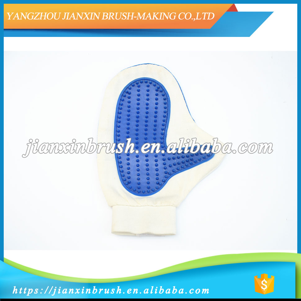 Factory outlets wholesale Professional pet grooming glove brush