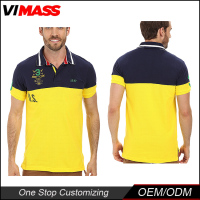 Casual Striped Collar Wholesale mens latest design polo shirt