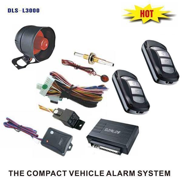 Auto guard security one way car alarm system for Pakistan Dubai Mid-East North Africa