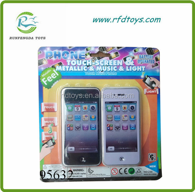 Hot sale plastic smart touch screen mobile phone toy