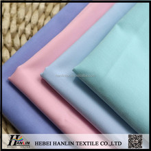plain dyed TC poplin textile bleached uniform doctor Clothing Fabrics