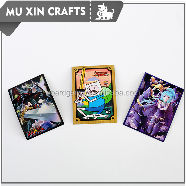 Good quality Custom cards sleeve game card sleeves