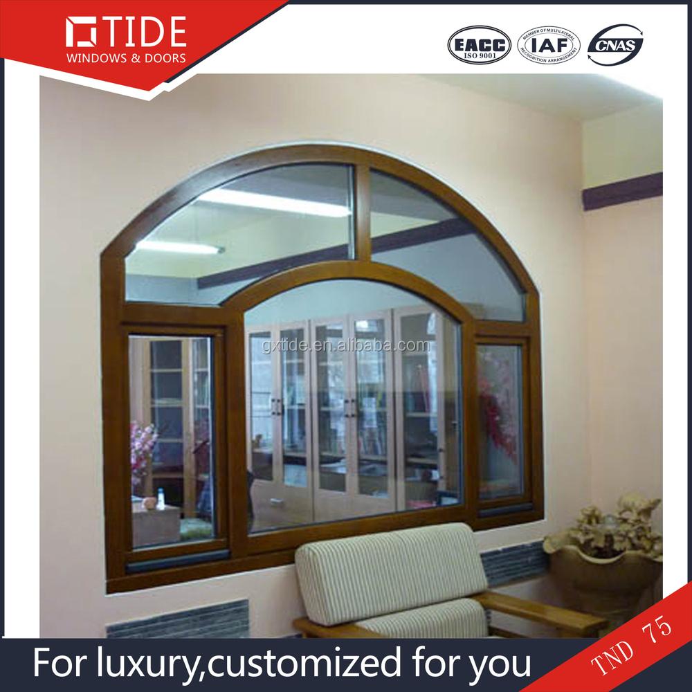Fashion and latest german design village window aluminum for Casas con puertas de madera