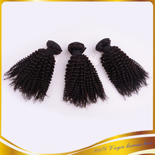 USA Byer 100% Virgin Kinky Curly Sew In Afro Kinkly Curly Virgin Hair Weave Cheap Brazilian Hair Weave