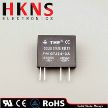 Mini solid state relay ssr dc to ac 3A (PCB type) crydom SSR UL TUV ROHS THE