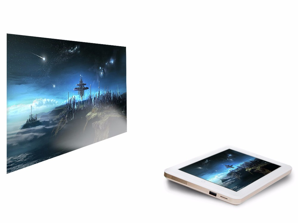 Mini tablet pc projector with 6gb ram android buy mini for Small pc projector