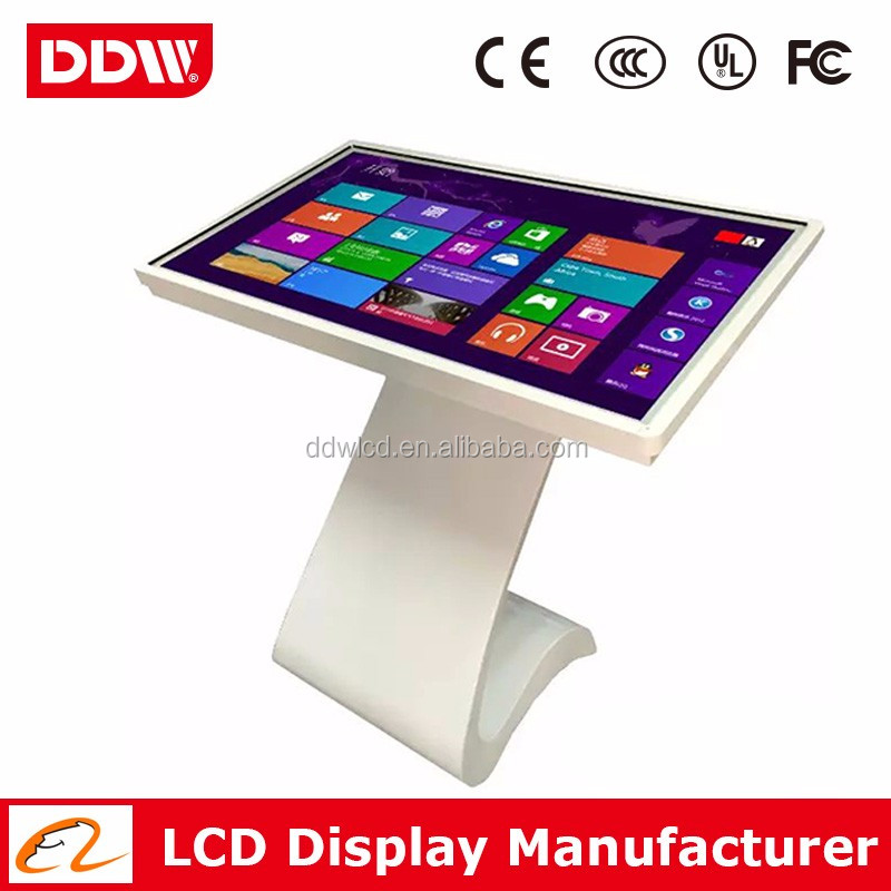 "China wholesale 47"" 1080P LED backlit mall kiosk sale stand touch screen kiosk touch monitor DDW-AD4701TKPC"
