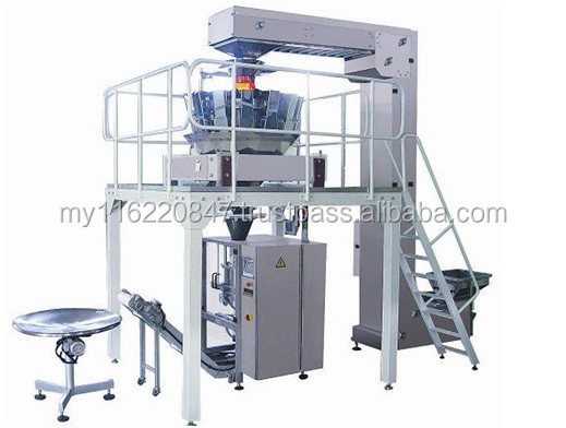 Fully set Vertical Packing Machine with 10head multi weigher; 10head multiweigher with vertical machine; fully auto packing mach