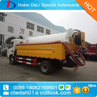 2016 New type 7000L sewer dredge vehicle high pressure jetting vacuum truck