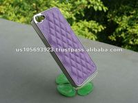 Factory price Sheep Leather Skin Cover case For Iphone5 IMPRUE