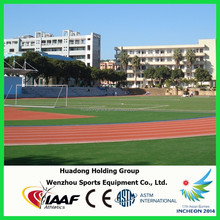 Auxiliary rubber running track surface for outdoor/indoor playground, sports flooring, athletic track and field