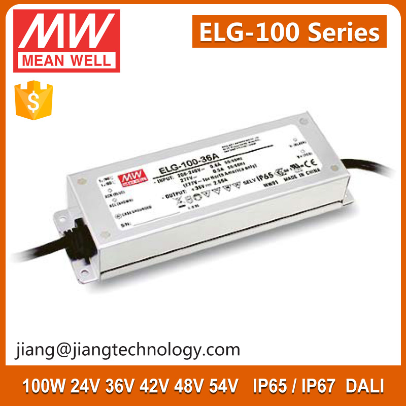 100W 42V 2.28A IP67 Constant Voltage LED Waterproof Driver ELG-100-42B
