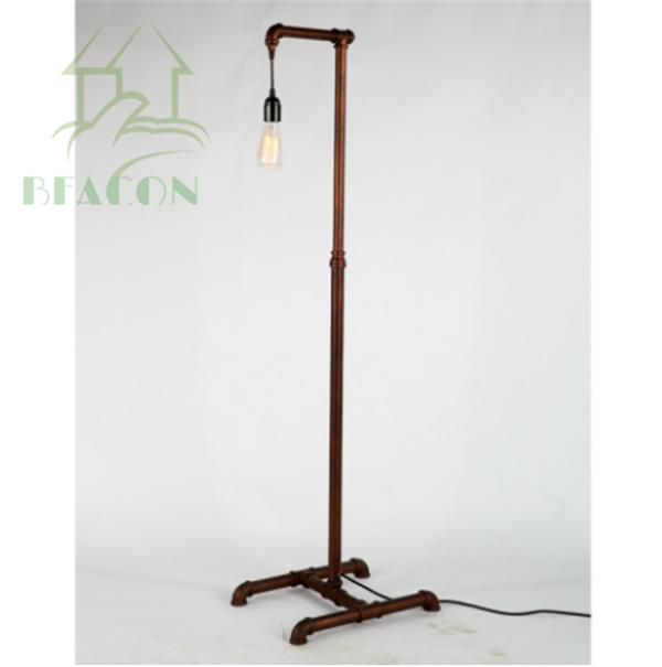 Acqua industriale Lampada Da Terra , Retro In Metallo Vintage Lampada ...