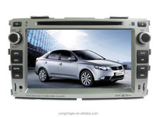 double din in dash car radio for Forte car navigation and entertainment system