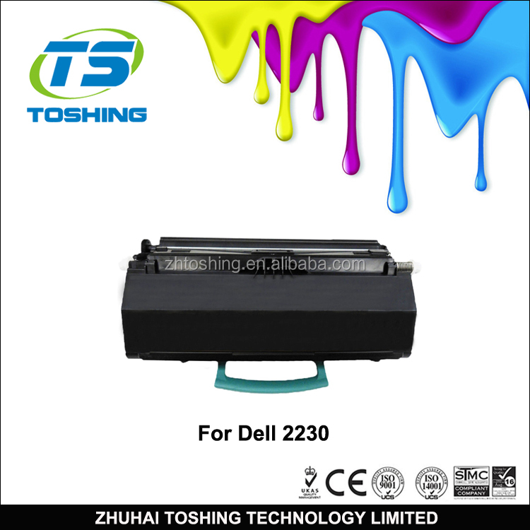 Toshing Original Quality 330-4131 Toner Cartridge 2230AT Compatible Printer Black Toner for Dell 2230 Toner