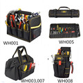 High quality open top tool tote bag electrician waist tool bag