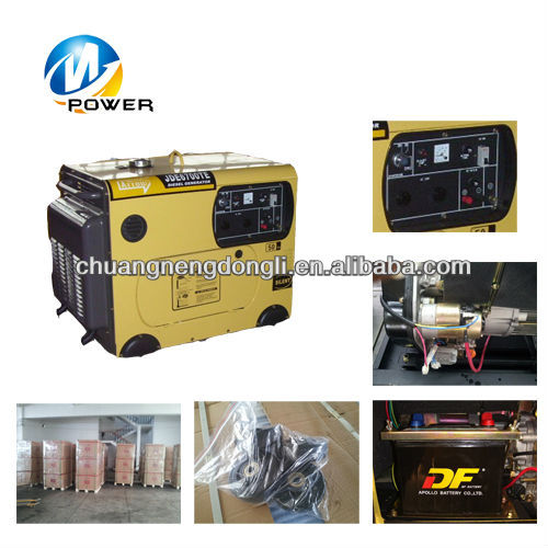 5KW Portable Silent Diesel Generator Made In China
