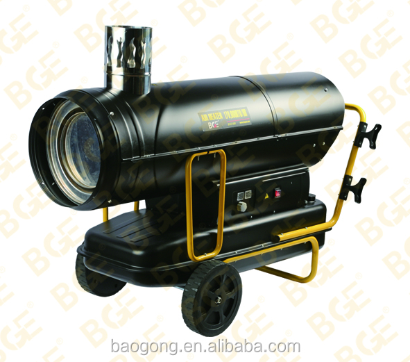 50KW Indirect diesel or Kerosene heater portable with Gear Pump