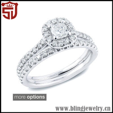 Cheap New Coming Rose Cut Diamond Pave Ring Jewelry