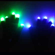 Party Favor New Flashing Light Led Gloves