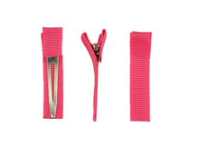 Grosgrain Ribbon Double Prong Alligator Hair Clips